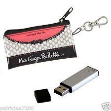 POCHETTE ETUI TROUSSE A CLE USB - IDEE CADEAU POUR FEMME DLP DERRIERE LA PORTE