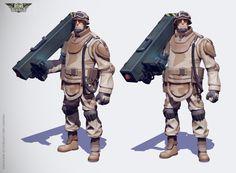 ArtStation - Rising Generals Soldier, Oliver Milas