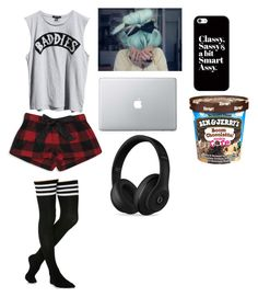 """""""lazy day"""" by iloveyou5sos ❤ liked on Polyvore featuring Forever 21, Ksubi, Casetify, Beats by Dr. Dre, women's clothing, women's fashion, women, female, woman and misses"""