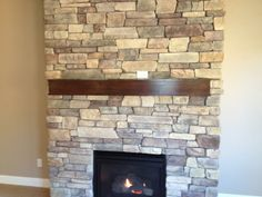Change in plans -- our fireplace will now look like this (with a hearth