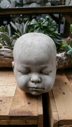 Hey, I found this really awesome Etsy listing at https://www.etsy.com/listing/233875694/solid-creepy-doll-head