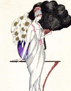 1920 La Fleur D'ore Worth Gown Gazette du Bon Ton French Fashion Pochoir Costume   eBay