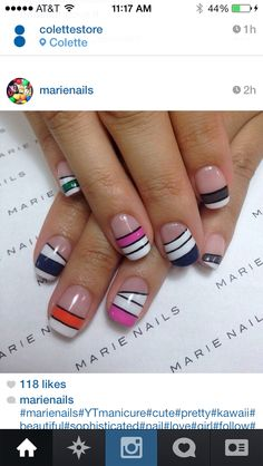 Today on Marie Nails Instagram feed :)