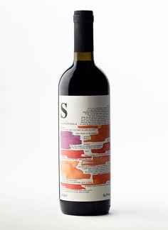 Cuvée S wine label design