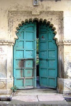 :: doorways :: turquoise :: vintage :: inspiration :: door ::