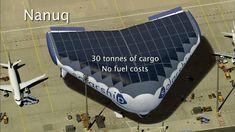 Solar Ship heißt ein neuartiges Luftfahrzeug aus Kanada. Es hat Flügel wie ein Flugzeug und wird mit Helium gefüllt wie ein Luftschiff. Angetrieben wird es mit Solarstrom.