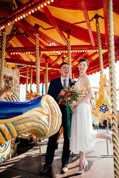 Colourful & Fun Seaside Funfair Portsmouth Wedding Wedding Ties, Wedding Music, English Country Weddings, Liberty Print, Portsmouth, Floral Wedding, Seaside, Real Weddings, The Incredibles