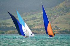 A regatta in Mauritius