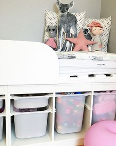 Storage space in children& rooms - our tips! Trofast Hack, Ikea Trofast, Slime Toy, Bath Bomb Gift Sets, Ikea Inspiration, Plastic Laundry Basket, Kids Bedroom, Kids Rooms, Cool Toys