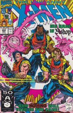 Uncanny X-men #282 First Appearance of Bishop.
