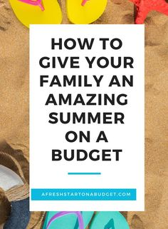 Looking for ways of having fun this summer for less? Here are over 15 ways you and your family can have fun this summer without spending a lot. Ways To Save Money, Money Saving Tips, Saving Ideas, Money Tips, Budgeting Finances, Budgeting Tips, Diy Projects On A Budget, Thing 1, Summer Activities