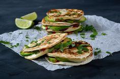 Melting Mexican Mini-Quesadillas | The Veg Spacea