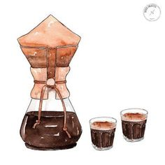 G O O D O B J E C T S: Archive - Coffee Icon - Ideas of Coffee Icon #coffeeicon #coffee - Coffee Cup Art, Coffee Bar Home, Coffee And Books, Coffee Cafe, Coffee Corner, Coffee Icon, Coffee Logo, Coffee Illustration, Watercolor Illustration