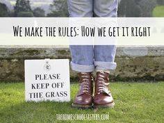We make the rules: How we get it right | The Homeschool Sisters Podcast