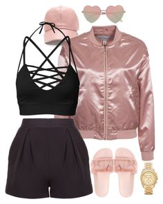 """""""Babydoll NLY"""" by believeindiamonds on Polyvore featuring NLY Trend, River Island and Michael Kors"""
