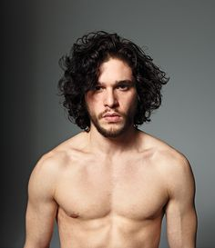 Hey Kit, you and I would make beautiful curly haired babies.  Just mull it over.
