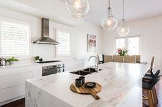 Sandringham Renovation - Kitchen :: Designed by Eat Bathe Live Rustic Kitchen, Kitchen Design, Cute Kitchen, Kitchen Inspirations, Kitchen Renovation, Small Kitchen, Natural Stone Kitchen, Big Kitchen, Kitchen Redo