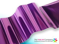 The Nail Art Company - Metallic Amethyst Purple - Nail Art Transfer Foil, £2.50 (http://www.thenailartcompany.co.uk/metallic-amethyst-purple-nail-art-transfer-foil/)