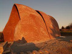 Dalhousie Coastal Studio: Timbrel Vault - removing the scaffolds