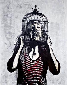 • ARTIST . POBEL •  ◦ Untitled ◦ #street art #graffiti