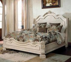 Millennium Ortanique Traditional King Bed With Sleigh Headboard Ivan Smith Furniture Footboard Arkansas Louisiana Texas