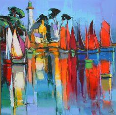 Eric Le Pape, artiste peintre de Bretagne   Nouvelles peintures d'Eric Le Pape