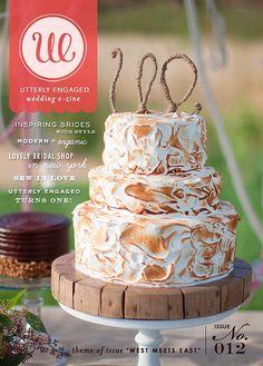 S'More wedding cake