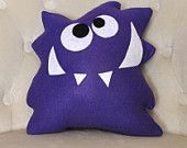 Plushie! Cute monster plushie. Easy to make.