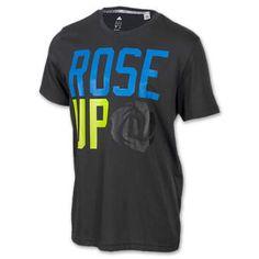 Adidas Men's D Rose Up T-Shirt,
