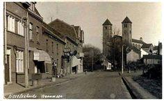 Wannerstraat met Corneliuskerk, Heerlerheide