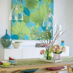 Things That Inspire: Blue and green should not be seen without a colour in…