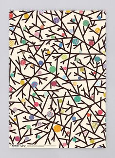 a whole painting of just the branches and thorns and berries--not this abstract