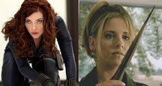 I love Joss Whedon's explanation of who'd win in a fight: Buffy vs. Black Widow.