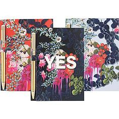$2.99 each Cynthia Rowley Memo Pad with Pen, Assorted Floral