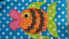 Funky Big Lips Fish Machine Applique Design by TheAppliqueJunkie, $4.00