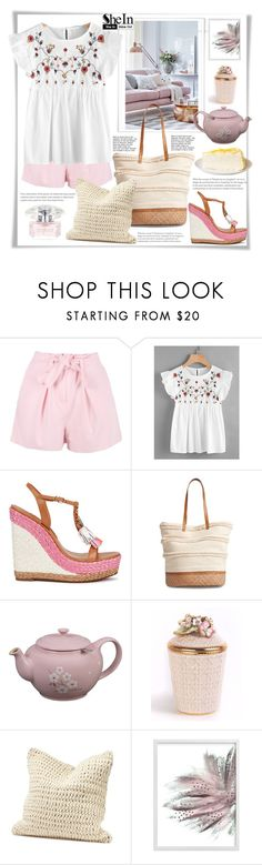 """""""Shein."""" by natalyapril1976 ❤ liked on Polyvore featuring Boohoo, Sophia Webster, Sole Society, Jay Strongwater, Coyuchi and Versace"""