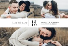 Mixed tiles printable invitation template. Customize, add text and photos.  Print, download, send online or order printed!  #invitations #printable #diy #template #savethedate #wedding #weddingsavethedate