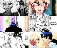 Love Stage!! ~ Manga vs Anime  [gif]