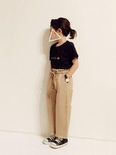 ca264213c0b36 バイカラーパンツ(2color) 韓国子供服