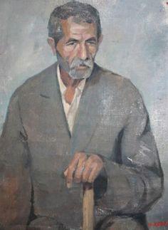 Antique Bulgarian Art Oil Man Portrait Painting Signed | eBay