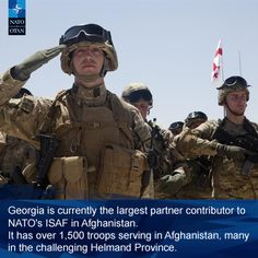 contribution to mission in Afghanistan, Troops, Did You Know, Georgia, Military, Army, Military Man