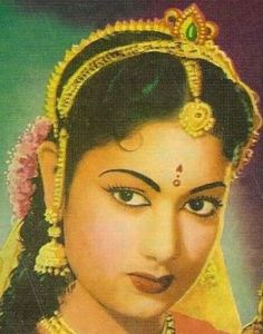 Savitri - Born December 6, 1937; made her debut in the 1950 movie, Samsaram.  Many more short bios on Indian actresses where this one came from.