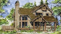 Eplans Cottage House Plan - Two Bedroom Cottage - 1144 Square Feet and 2 Bedrooms from Eplans - House Plan Code HWEPL69730