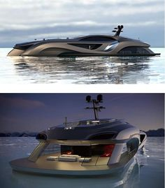 Xhibitionist luxury Super-yacht concept