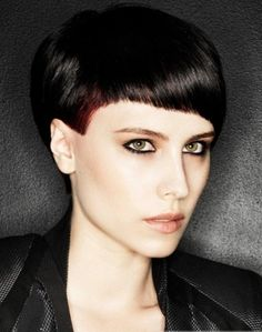 Chic Short Layered Haircut 2014