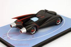 Hersteller: Ixo Maßstab: 1:43 Fahrzeug: Batmobile Serie: Batman The Brave and the Bold Animated Series Artikelnummer: MAG EY14 Farbe: schwarz