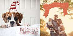 Cute Photo Overlays for Christmas Cards.