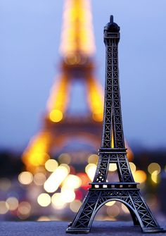 Pretty sure my brother got me this same little Eiffel Tower went he went to Paris ;) #exactly