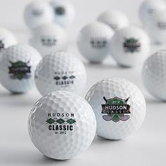 Gift Idea For Men`s  Personalized Golf Balls  One of the key tools of the trade, you simply can't have too many golf balls, and this set of 12 distinguishes itself from the rest. Emblazoned with a name and an eye-catching graphic, they just might reduce a golfer's handicap by a hole or two. #Christmas #Christmas2016 #Xmas #ILoveXmas  #XmasIsComming #Xmaslet #Recipes #ChristmasDecoration #Christmastree #Christmassong #Gifts #ChristmasGifts  #ChristmasCountdown