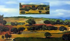 Items similar to Oil on Canvas Original Signed Painting by Oded Feingersh Green Landscape View Unique Art on Etsy Green Landscape, Painted Signs, Little Gifts, Unique Art, Oil On Canvas, Original Paintings, The Originals, Gallery, Israel